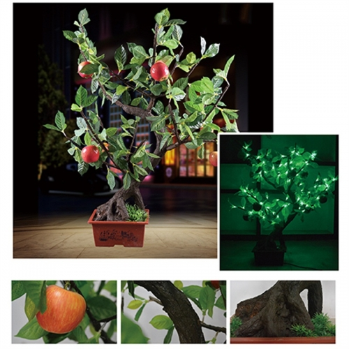 分析一下仿真树灯的安装方式