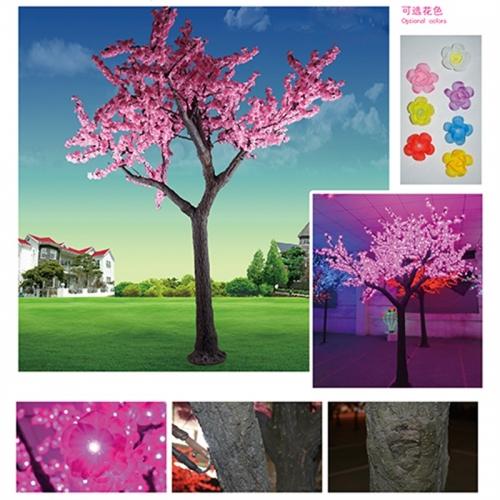 仿真树灯可突显特定的渲染风格