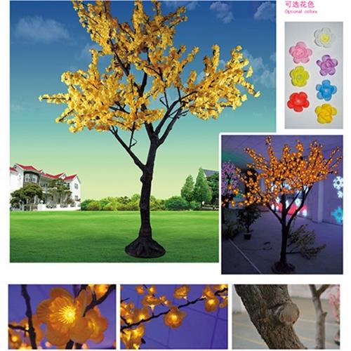 仿真树灯在环保节能理念的传播出一份力
