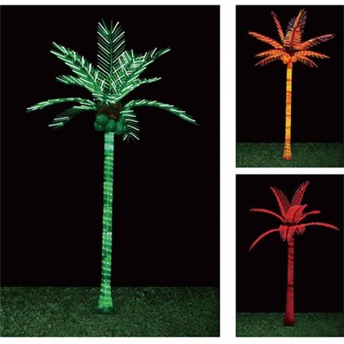 建设广泛的发光树灯
