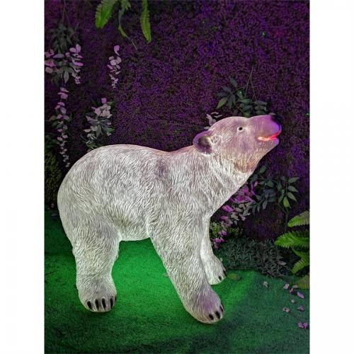 玻璃钢小北极熊